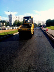 Асфальтирование дорог,  укладка асфальта Киев и Киевская область